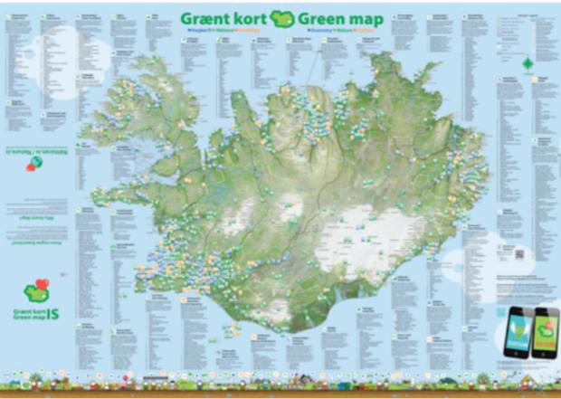 Iceland GreenMap large