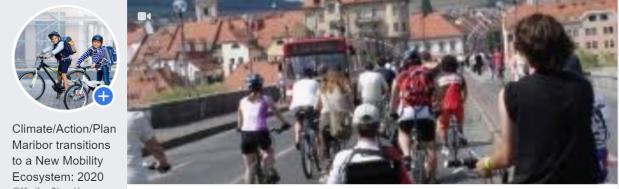 FB Slovenia Maribor cyclists
