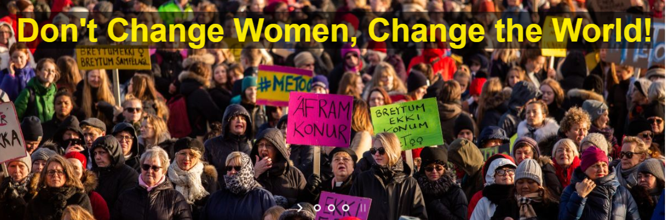 Iceland dont change women world