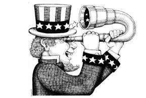 Roger Tweedt as Uncle Sam